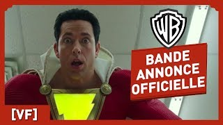 Shazam - Bande Annonce Officielle Comic-Con (VF) - Zachary Levi streaming