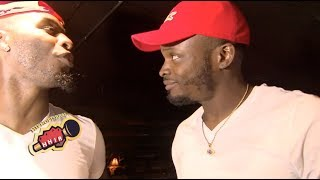 HITMAN HOLLA & BRIZZ RAWSTEEN BL7 SIZE UP! (FUTURE SHOWDOWN)