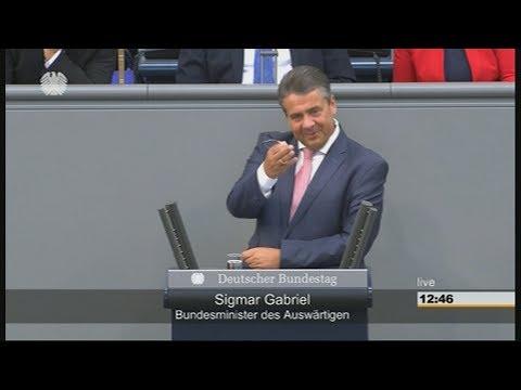 Generaldebatte im Bundestag: Gabriel bedankt sich bei Merkel & kontert gleich noch