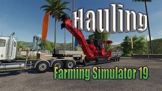 Farming simulator 19 First Hauling Video!