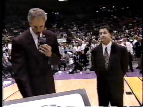 Lakers Gail Goodrich Jersey Ceremony