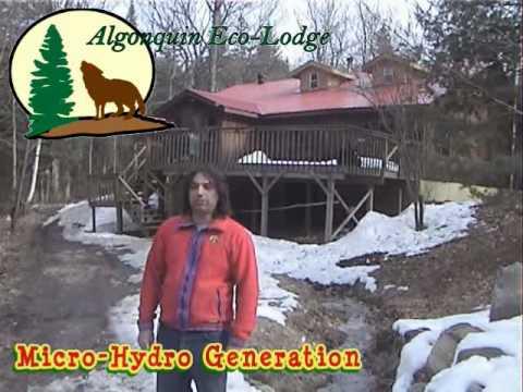 Algonquin Eco-Lodge - 12 kW Micro-Hydro Turbines