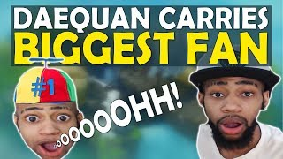 DAEQUAN\'S HUGE SURPRISE CARRY | HIGH KILL SQUADS GAME | FT. ChicaLive - (Fortnite Battle Royale)