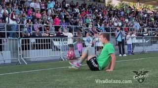 Michael Toft - Freestyle Soccer, half time show