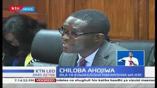 Chiloba akanusha madai kwamba alichukua hatua kibinafsi bila kuwahusisha makamishna wa IEBC
