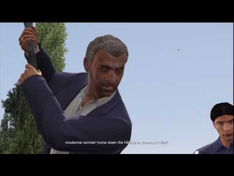 Grand Theft Auto V Gameplay: Michael Marriage Counseling & Lester's Friend Request