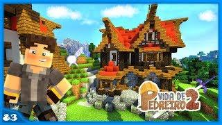minecraft casa medieval fantasy pedreiro vida