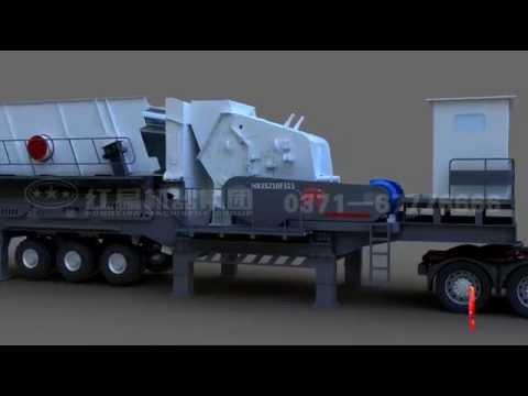 How Mobile Crushers Work,Henan Hongxing Mining Machinery Co.,Ltd