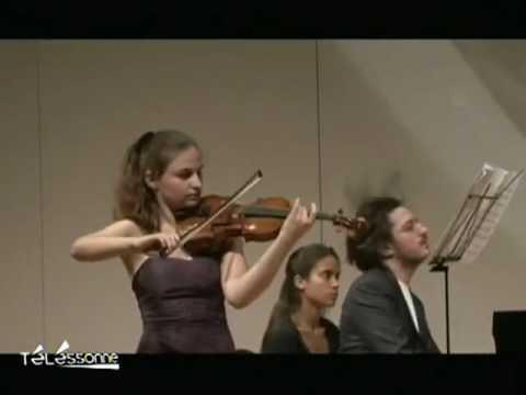 Alexandra Soumm à la Salle Pleyel (Paris)