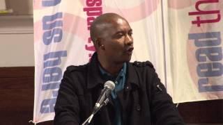 South Africa: Marikana video and Mametlwe Sebei addressing Socialism 2013