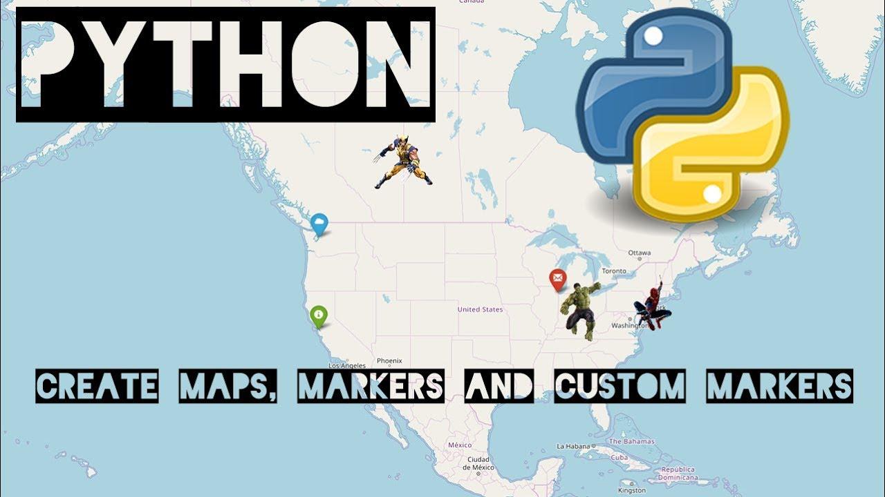 Python - Create Maps with Folium and Leaflet