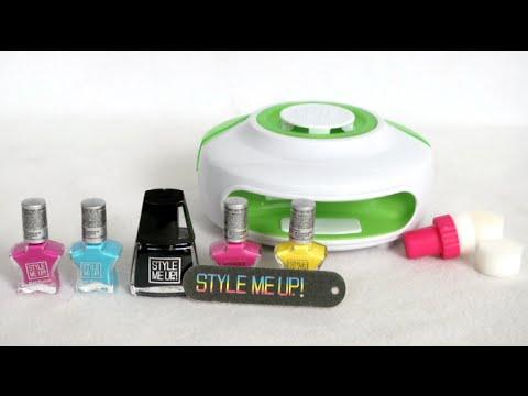 Style Me Up Light My Style Light Up Nail Dryer Top Spot Nail Art