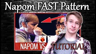 NaPoM Routine Tutorial! | FAST Clicks+Coughs Pattern! [Requested] | Beatbox Like The Stars #14