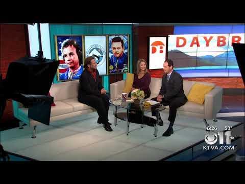 CBS News Nicolosi Interview - Sandra Day O'Connor Portrait Senator Ted Stevens Portrait in Alaska