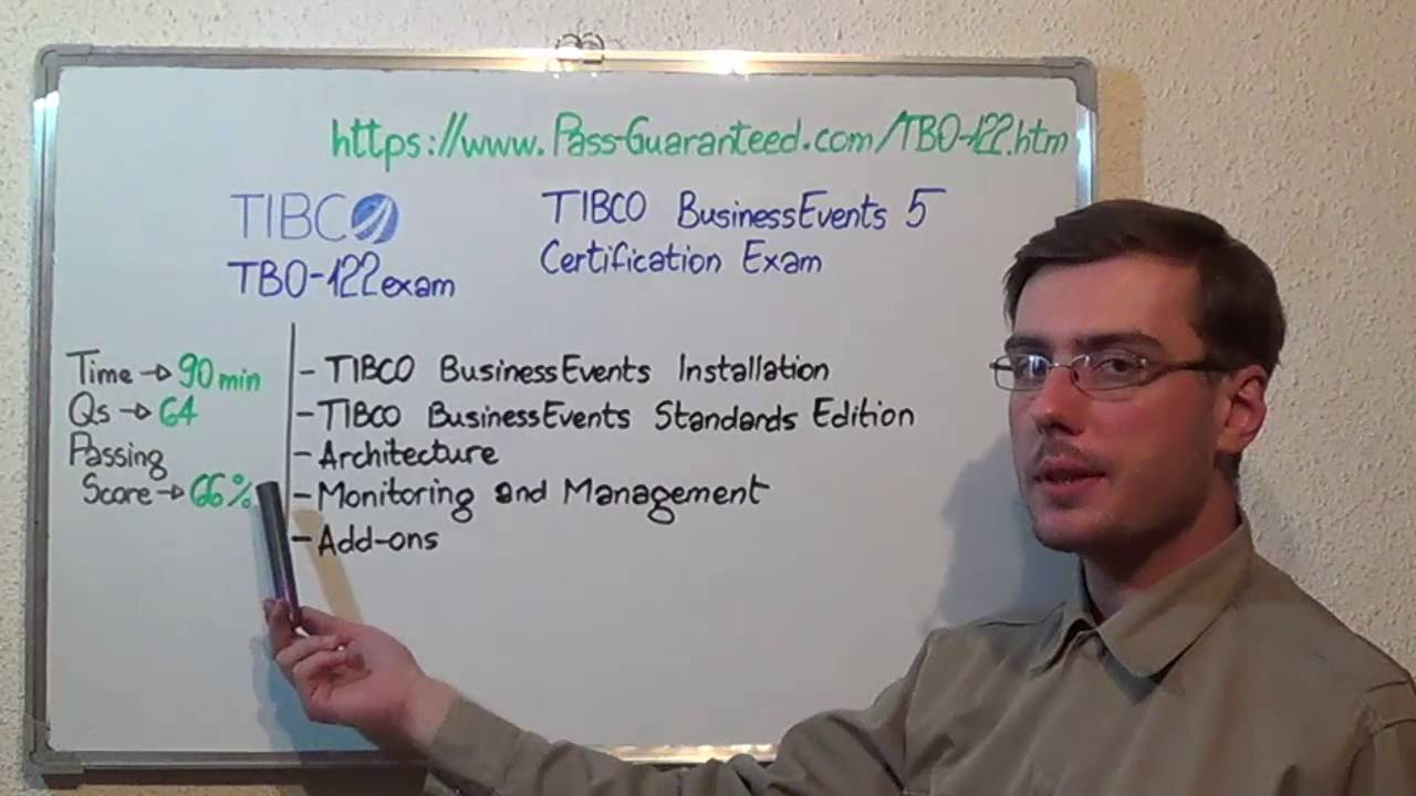 Tb0 122 Tibco Exam Businessevents 5 Test Certification Questions