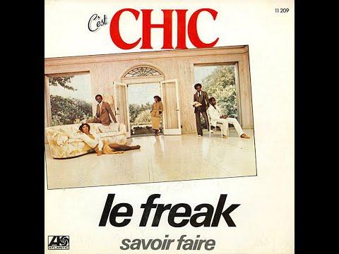 Chic ~ Le Freak 1978 Disco Purrfection Version