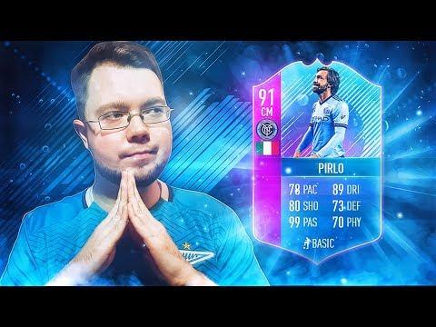 ПРОФЕССОР АНДРЕА ПИРЛО 91 - FIFA 18 thumbnail