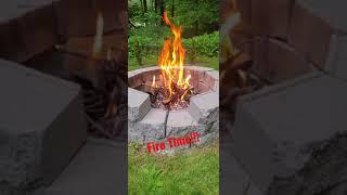 We ❤ Fire Time! #shorts - #campfire - #bestsmellever