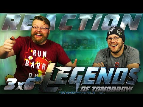 "Legends of Tomorrow 3x6 REACTION!! ""Helen Hunt"""