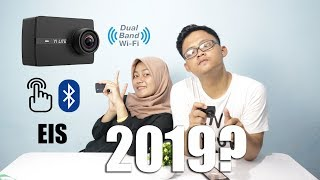 REVIEW YI LITE ACTION CAMERA 4K - 1 JUTAAN - 16 MP -  LAYAR SENTUH, EIS, DUAL BAND WIFI INDONESIA