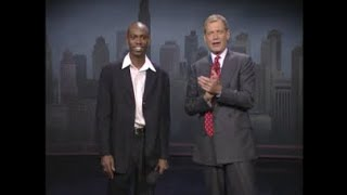 Dave Chappelle Collection on Letterman, 1994-2014