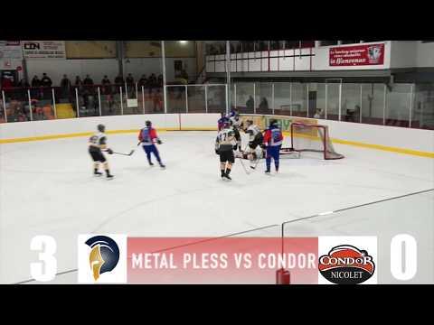 Game Recap #2 Condor Nicolet vs Metal Pless Plessiville 19 10 2018