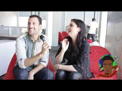 Hit The Floor Season 4: Jodi Lyn O' Keefe and James Larosa