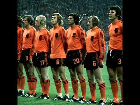 Análise tática da Holanda da copa de 1974