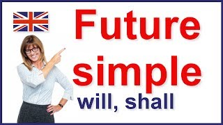 Future simple tense - will and shall | English grammar
