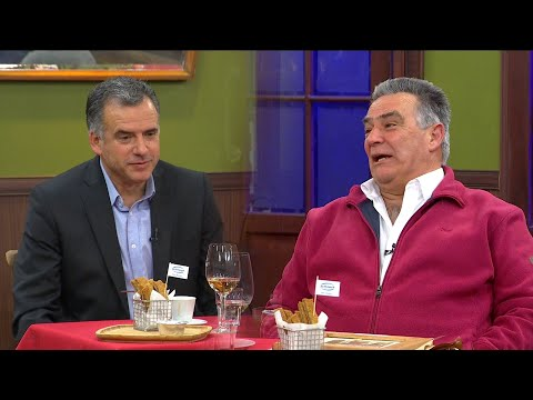 Yamandú Orsi y Carmelo Vidalín