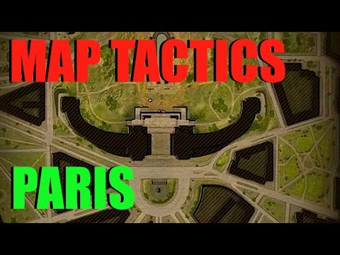 WOT - Map Tactics & Strategy Paris With Pierre | World Of Tanks