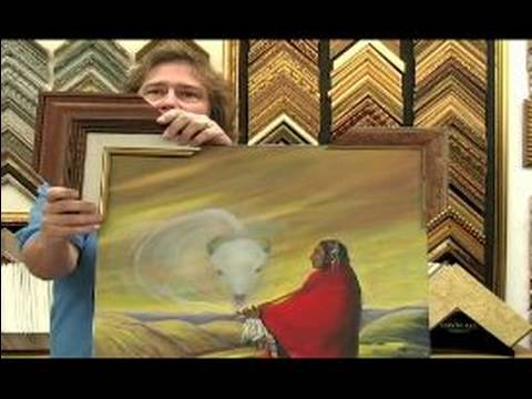 All About Picture Framing : How to Frame Canvas Paintings - YouTube
