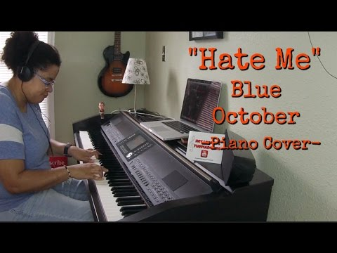Blue October- Hate Me (Piano Cover by Jen Msumba) Instrumental