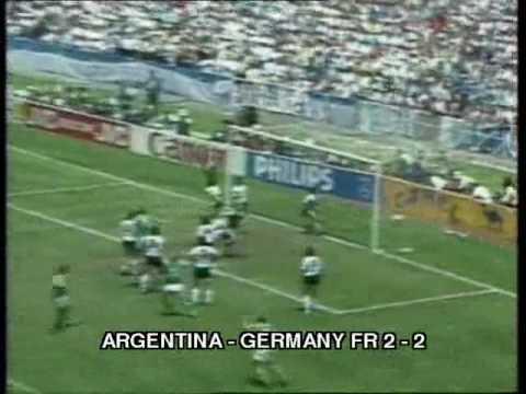 1986 WC final  Argentina  Germany FR  3:2