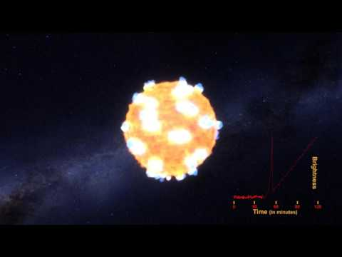 Shockwave of Exploding Star Seen for First Time