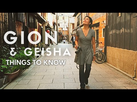 GEISHAS & GION: 15 Things you MUST KNOW  | KYOTO Travel Guid