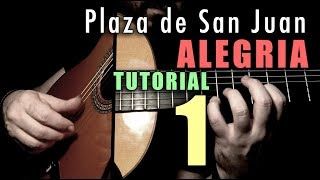 Mixed Technique Exercise - 13 - Plaza de San Juan (Alegria) INTRO by Paco de Lucia