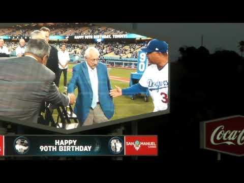 Tommy Lasorda 90th  Birthday Celebration Ceremony 9/22/17 part 1