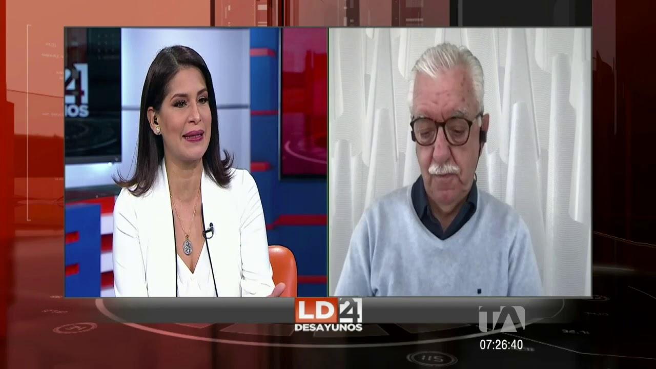 Los Desayunos 24 Horas, Abelardo Pachano, sobre Ley de Defensa de la Dolarización