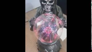 видео Завораживающий плазменный шар покупаем на Алиэкспресс