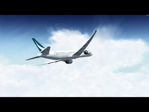 Prepar3D Flight from Hong Kong to Chubu Centrair International