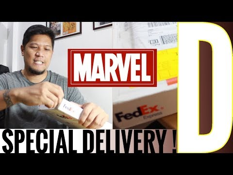 PACKAGE FROM MARVEL!