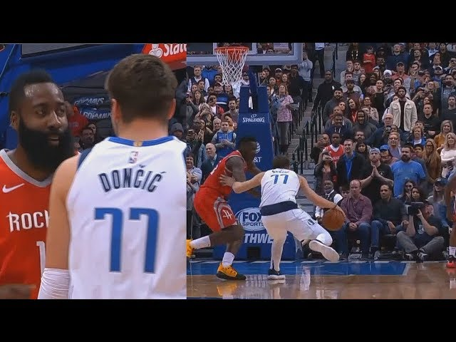 Luka Doncic Shows James Harden His Step Back Is Better After Harden Shows Off His Own Step Back!