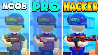 NOOB vs PRO vs HACKER – HellCopter (iOS)