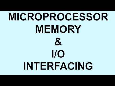 MEMORY & I/O INTERFACING | MICROPROCESSOR | PART-8  | BSNL JE (TTA)  | JTO  | PSU
