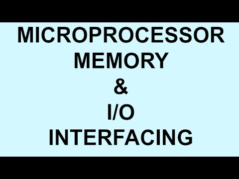 MEMORY & I/O INTERFACING | MICROPROCESSOR | PART-8  | BSNL JE (TTA)  | JTO  | PSU