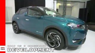 2019 DS 3 Crossback SUV Development