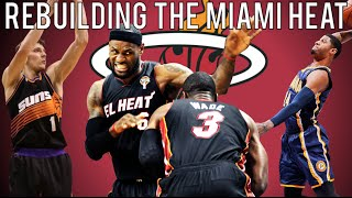NBA 2K15 MyLEAGUE: Rebuilding the Miami Heat!