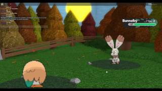 Pokemon con un amigo-Roblox