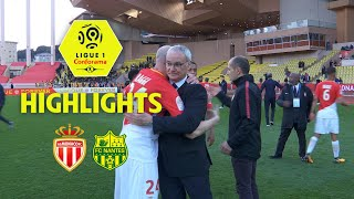 AS Monaco - FC Nantes ( 2-1 ) - Highlights - (ASM - FCN) / 2017-18
